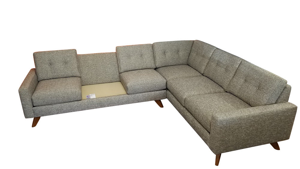 "Venice 2PC Sectional 112"" x 89"""