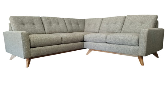 "Venice 2PC Sectional 89"" x 89"""