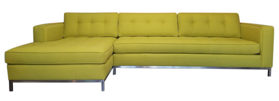 "Promo Special 2PC Nixon Sectional 126"" x 65"""