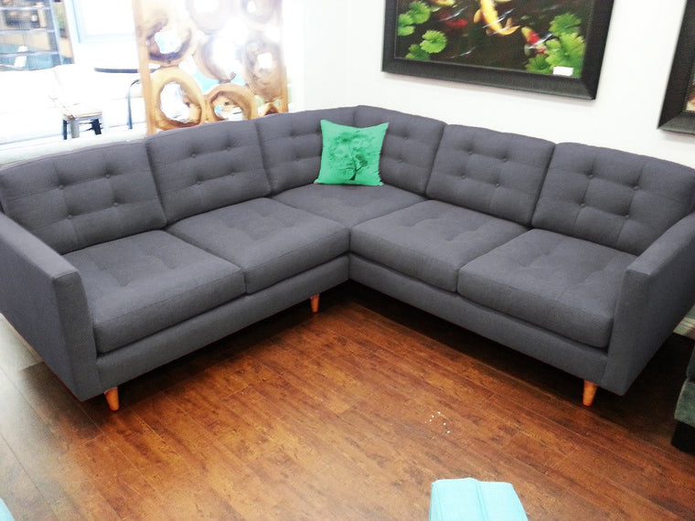 "96"" x 96"" 2PC San Diego Sectional"