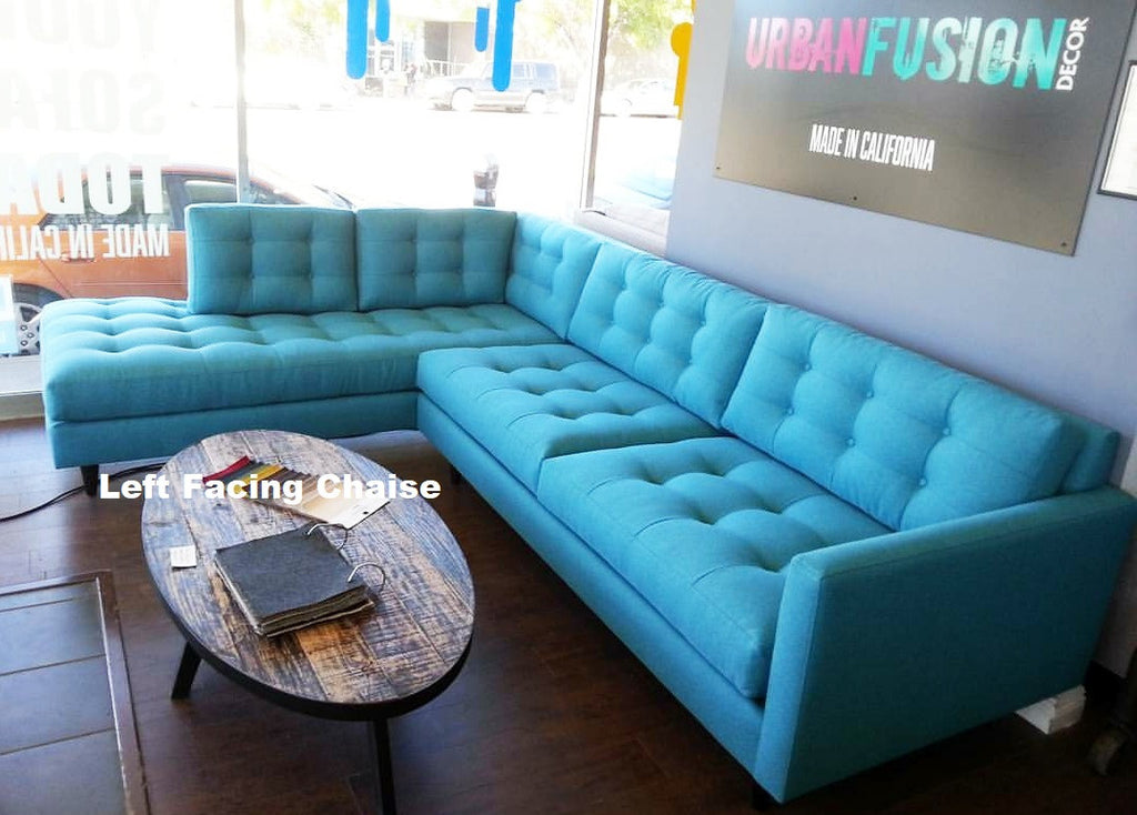 "119"" 2 PC San Diego Sectional"