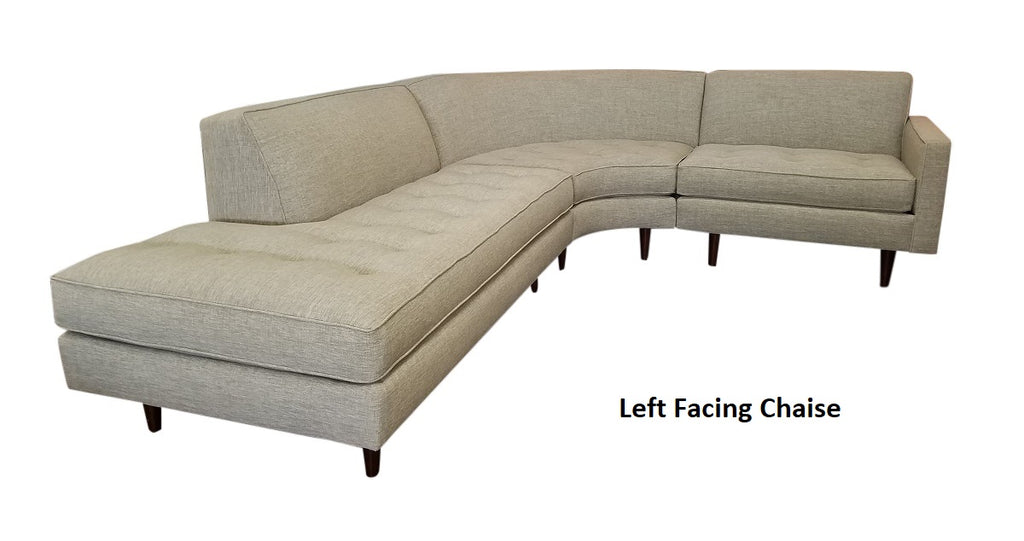 "Hollywood 3PC Sectional 111"" x 86"""