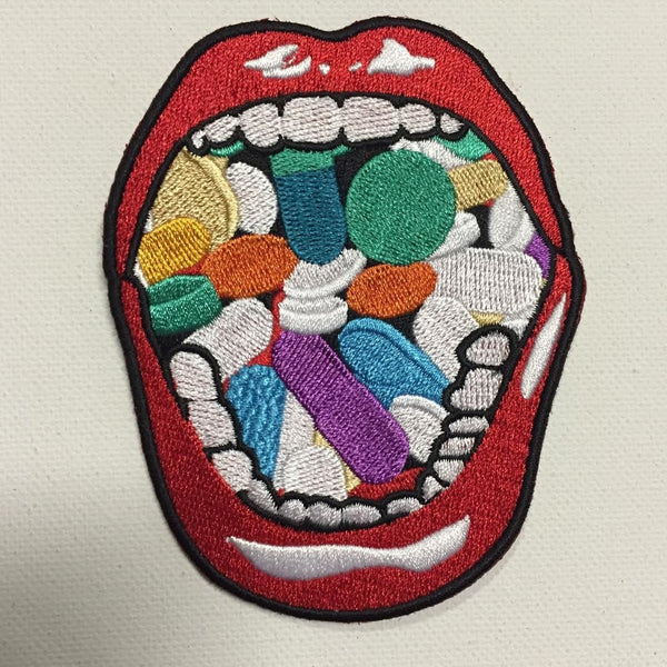 Mouth O' Pillszzz Patch! <3 - WhoCaresNYC