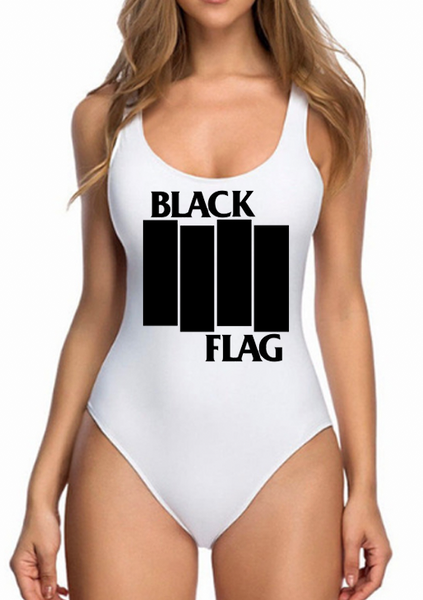 BLACK FLAG bodysuit
