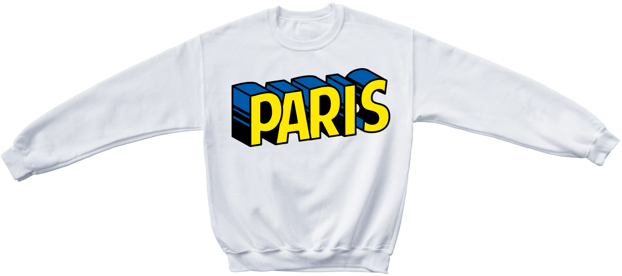 PARIS Crewneck sweater