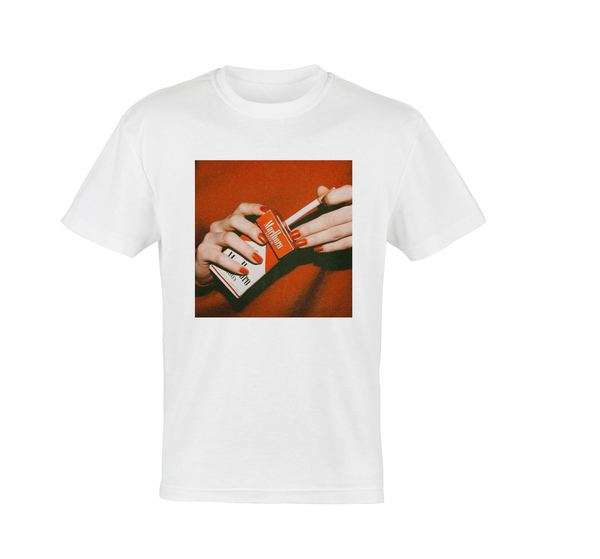 Red Nails Red Smokes Tee