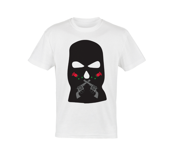Rose Robber Mask Tee