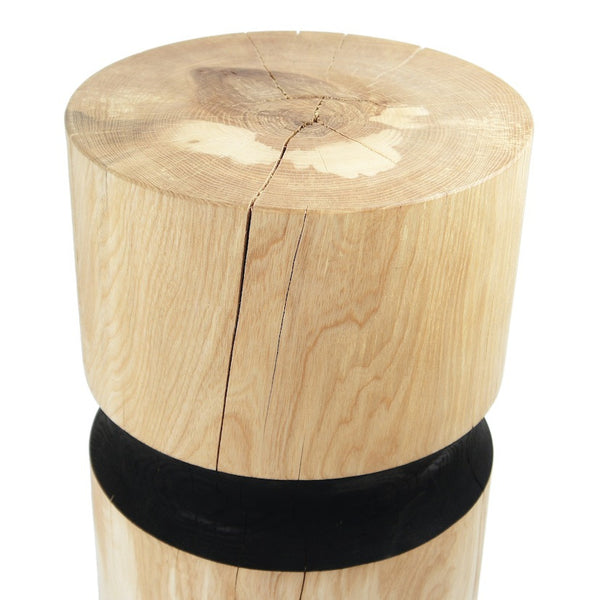 Ash Black Stool / Side Table