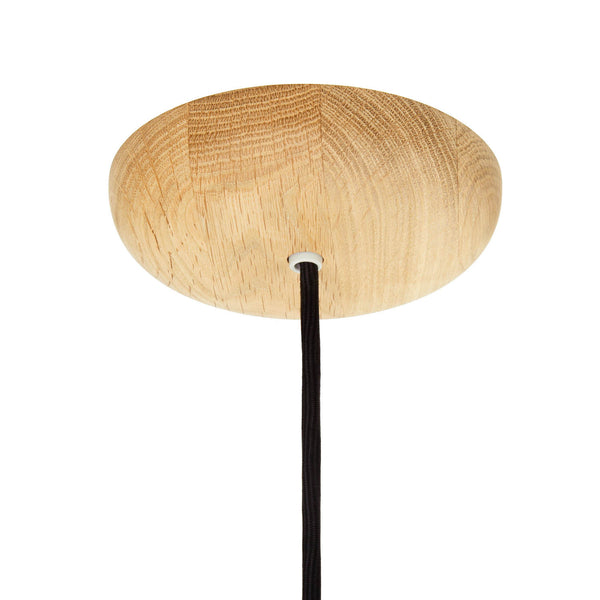 round domed lamp ceiling fitting light Oak