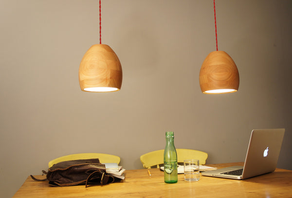 Spotty20 Cherry pendant wooden lamps