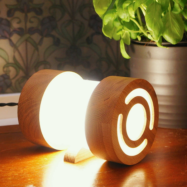 Large Jojo Wooden Table Light Set