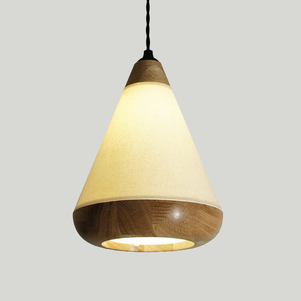 Beautiful on or off the FabLamp pendant light
