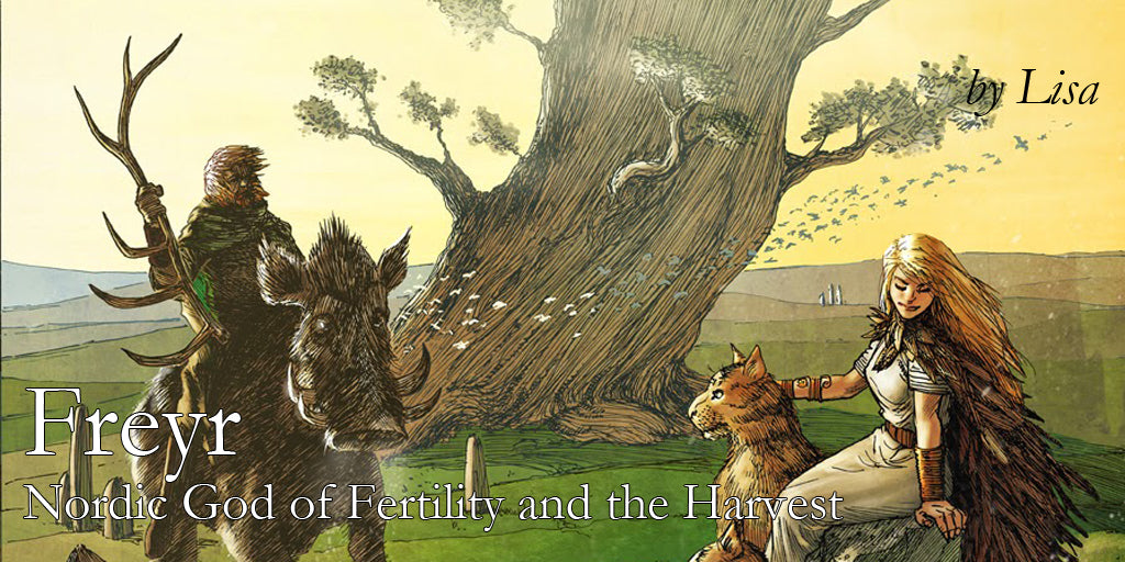 Freyr - Nordic God of Fertility and the Harvest