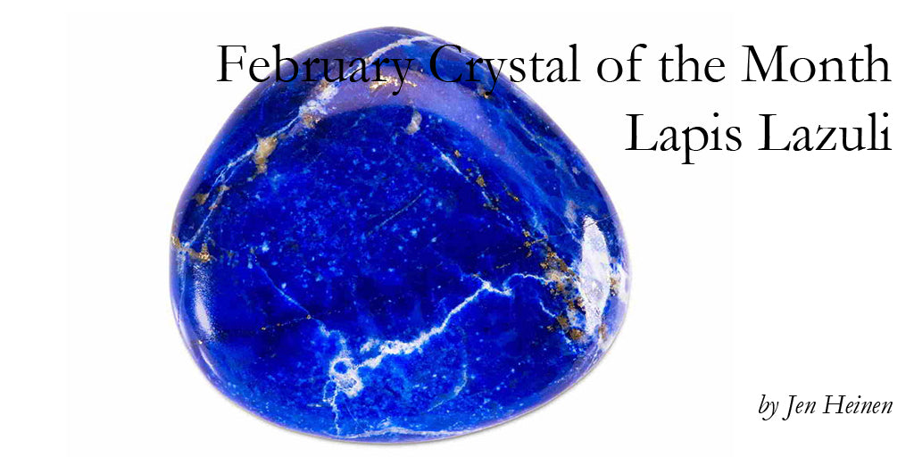 February Crystal of the Month - Lapis Lazuli