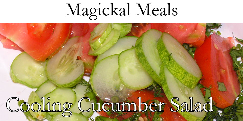Kitchen Witch: Cooling Cucumber Salad