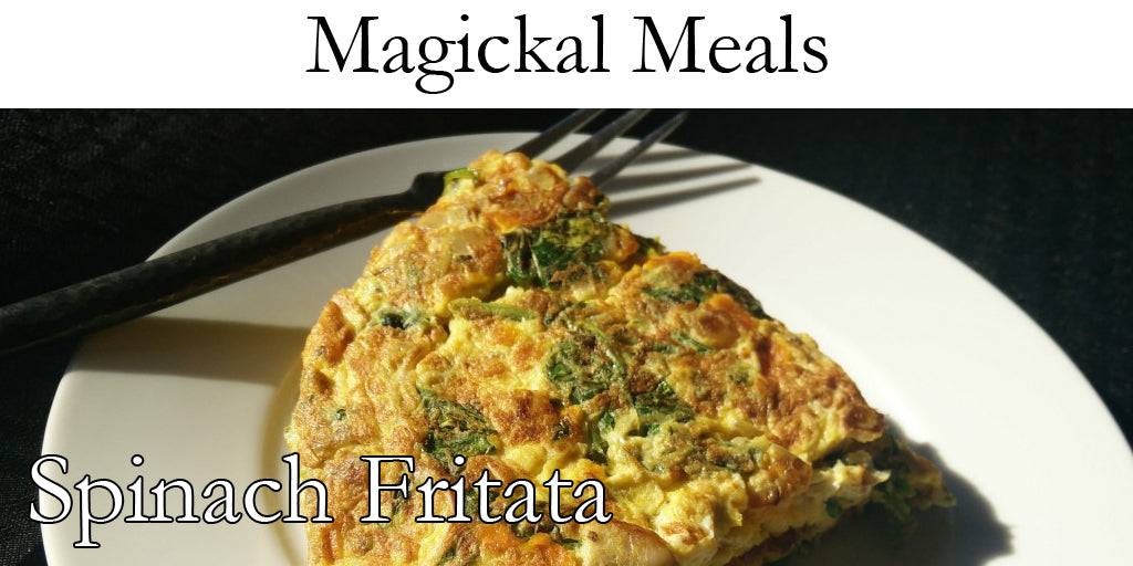 Kitchen Witch - Spinach Frittata