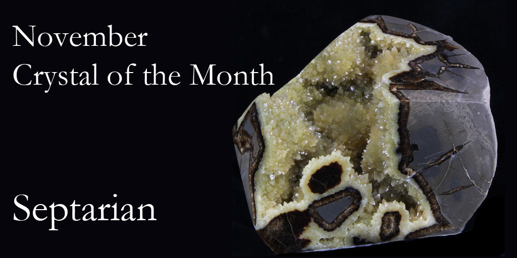 Crystal of the Month:  Septarian