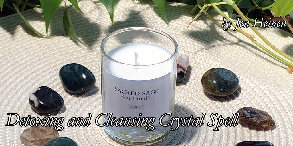 Detoxing and Cleansing Crystal Spell