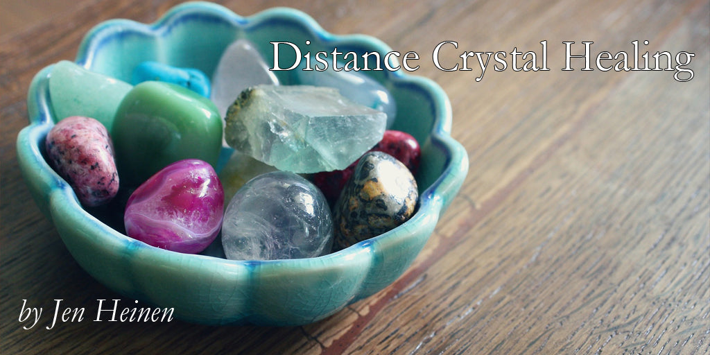 What is Distance Crystal Healing?