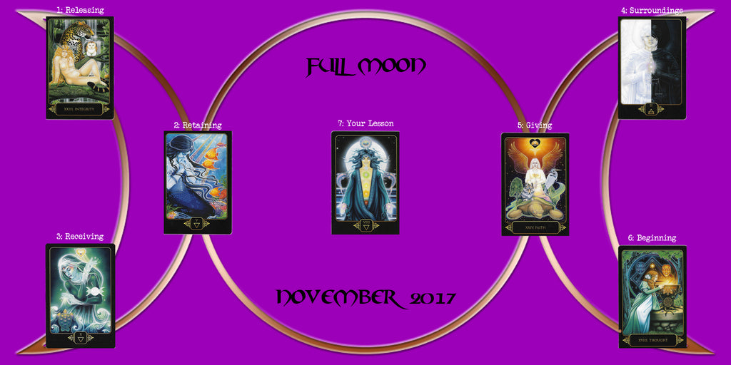 November Full Moon Tarot Reading