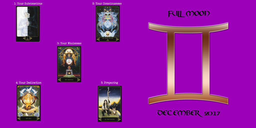 Full Moon Tarot Reading December 2017