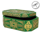 Celtic Tree of Life Green Box