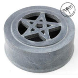 Gray Soapstone Pentacle Box