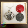 Harmony Ball Aromatherapy Necklace, OM