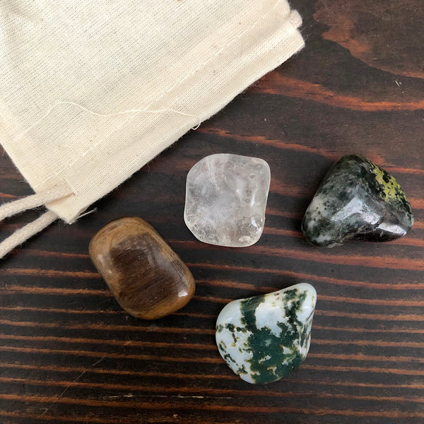 Abundance Magic Tumbled Stone Set