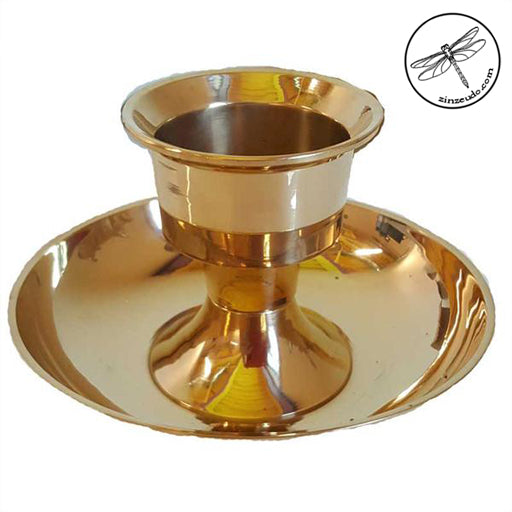 Brass Chamber Stick Taper Candle Holder