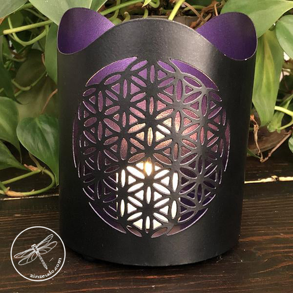 Flower of Life T-Light Holder