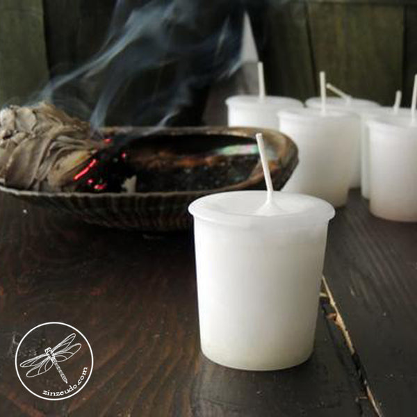 Wild Sage Votive Candle for Purification