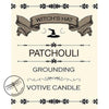 Patchouli Votive Candle for Grounding