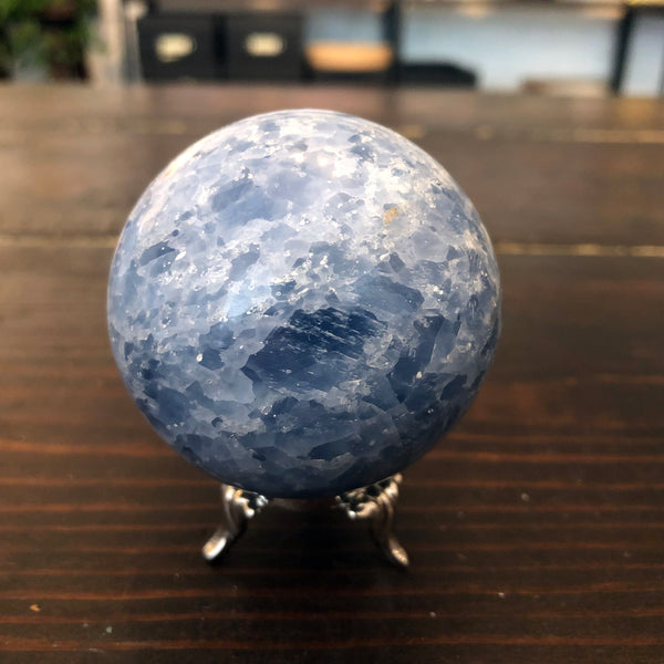 Celestite Sphere for Angelic Communication 55mm