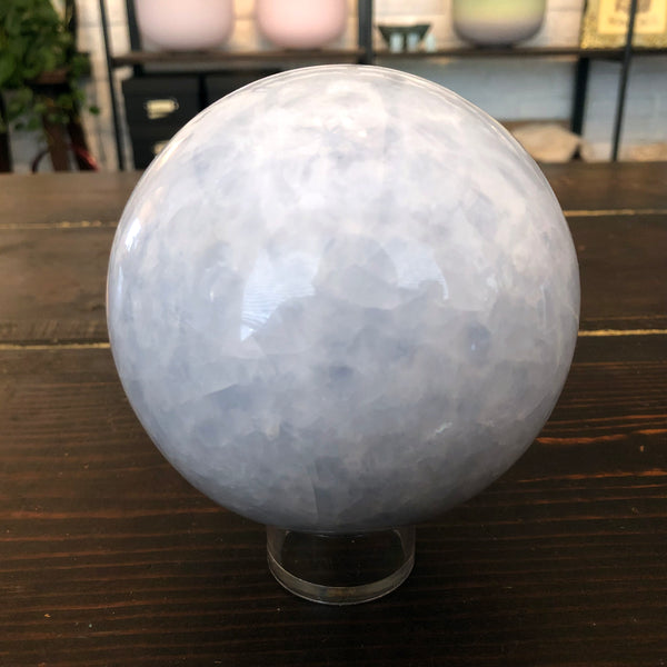 Celestite Sphere for Angelic Communication 108mm