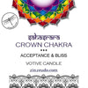 7th Crown Chakra Candle