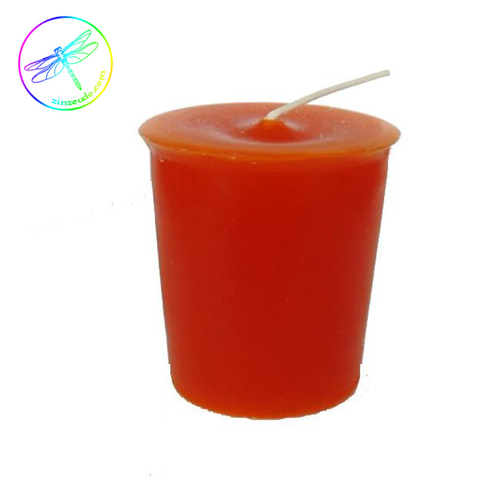 2nd Sacral Chakra Candle