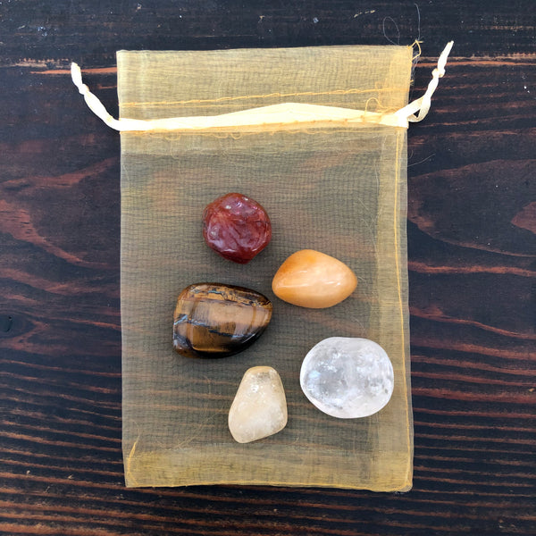 Energizing Tumbled Stone Set