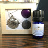 Energy EO Blend + Aromatherapy Necklace Set