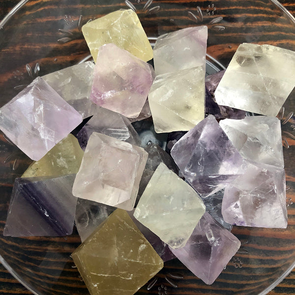 Fluorite, Octahedrons for Healing, Energizing & Cleansing
