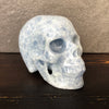Blue Calcite Skull