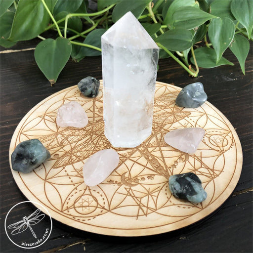 Attract Love Crystal Grid Set