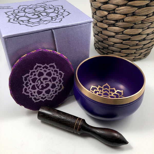 Crown Chakra Singing Bowl