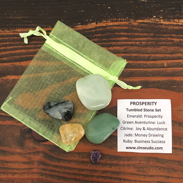 Prosperity Tumbled Stone Kit