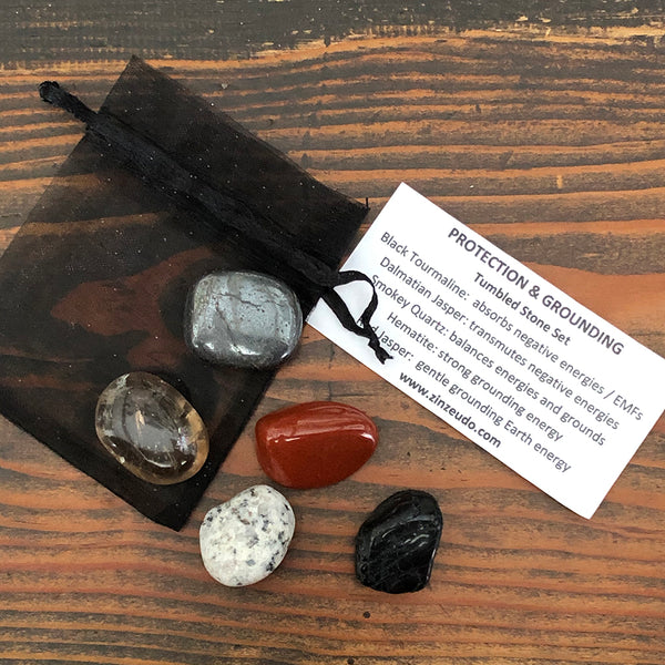 Protection & Grounding Tumbled Stone Kit