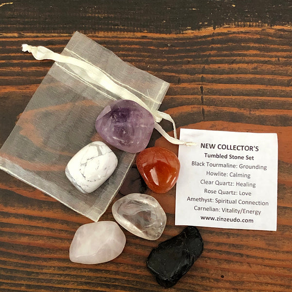 New Collector's Tumbled Stone Kit