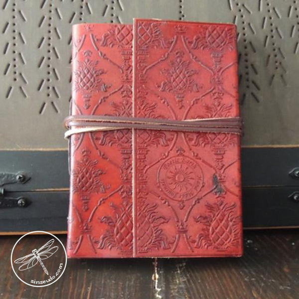 Honeysuckle Leather Journal