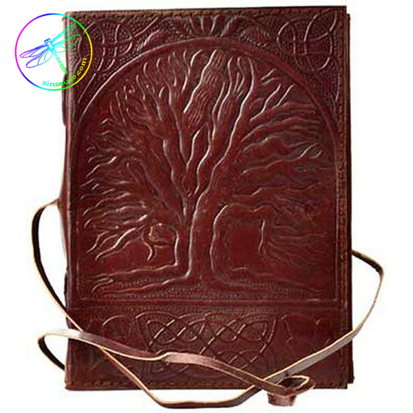 Sacred Oak Leather Journal
