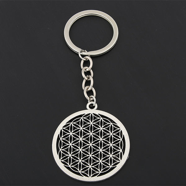 Flower of Life Key Chain