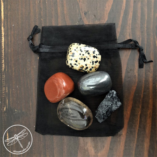 Protection & Grounding Tumbled Stone Set